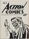 Cover for Action Comics [ashcan] (DC, 1937 series) #1