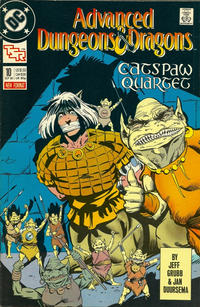 Cover Thumbnail for Advanced Dungeons & Dragons Comic Book (DC, 1988 series) #10