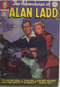 Cover Thumbnail for The Adventures of Alan Ladd (DC, 1949 series) #4