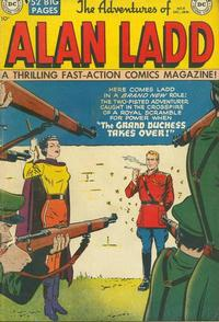 Cover Thumbnail for The Adventures of Alan Ladd (DC, 1949 series) #8