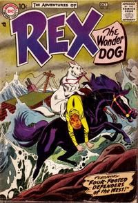 Cover for The Adventures of Rex the Wonder Dog (1952 series) #35