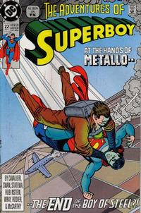 Cover for The Adventures of Superboy (1991 series) #22