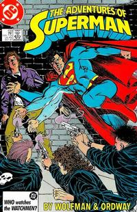 Cover for Adventures of Superman (DC, 1987 series) #433