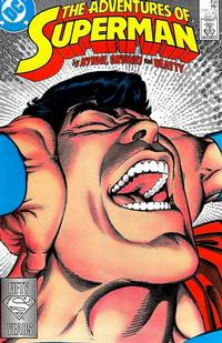Cover Thumbnail for Adventures of Superman (DC, 1987 series) #438