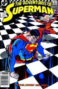 Cover Thumbnail for Adventures of Superman (DC, 1987 series) #441 [Newsstand Variant]