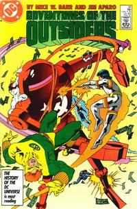 Cover Thumbnail for Adventures of the Outsiders (DC, 1986 series) #42 [Direct]
