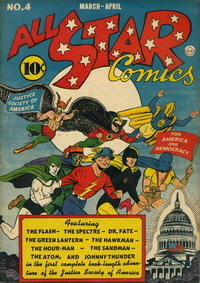 Cover Thumbnail for All-Star Comics (DC, 1940 series) #4