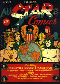 Cover Thumbnail for All-Star Comics (DC, 1940 series) #9