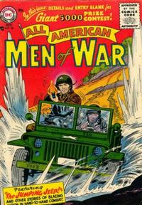 Cover Thumbnail for All-American Men of War (DC, 1953 series) #38