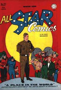 Cover Thumbnail for All-Star Comics (DC, 1940 series) #27