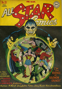 Cover Thumbnail for All-Star Comics (DC, 1940 series) #33