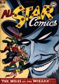 Cover Thumbnail for All-Star Comics (DC, 1940 series) #34