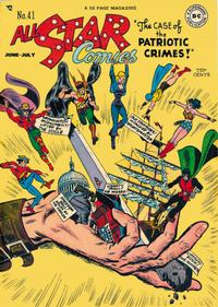 Cover Thumbnail for All-Star Comics (DC, 1940 series) #41