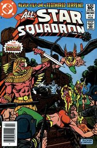 Cover for All-Star Squadron (DC, 1981 series) #6 [Direct Sales Edition]