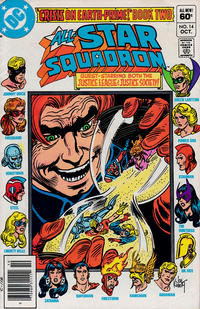 Cover for All-Star Squadron (DC, 1981 series) #14