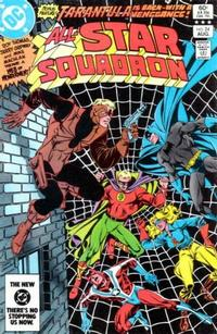 Cover for All-Star Squadron (DC, 1981 series) #24 [Direct-Sales]