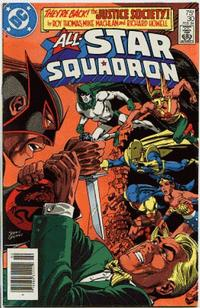 Cover for All-Star Squadron (DC, 1981 series) #30 [Direct-Sales]