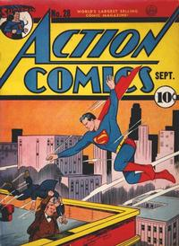 Cover Thumbnail for Action Comics (DC, 1938 series) #28