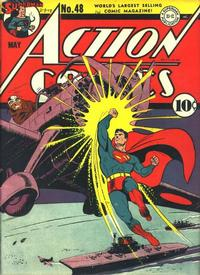 Cover Thumbnail for Action Comics (DC, 1938 series) #48