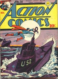 Cover Thumbnail for Action Comics (DC, 1938 series) #54