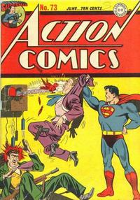 Cover Thumbnail for Action Comics (DC, 1938 series) #73