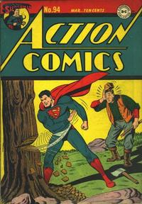 Cover for Action Comics (1938 series) #94