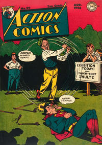 Cover Thumbnail for Action Comics (DC, 1938 series) #99