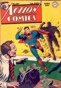 Cover Thumbnail for Action Comics (DC, 1938 series) #107