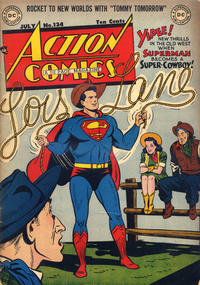 Cover Thumbnail for Action Comics (DC, 1938 series) #134