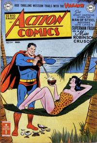 Cover Thumbnail for Action Comics (DC, 1938 series) #154