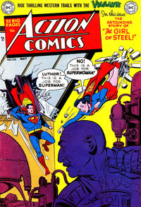 Cover Thumbnail for Action Comics (DC, 1938 series) #156