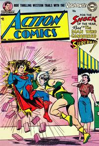 Cover Thumbnail for Action Comics (DC, 1938 series) #165