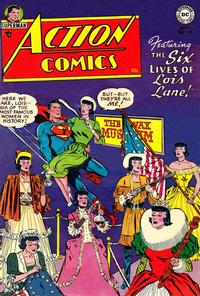 Cover Thumbnail for Action Comics (DC, 1938 series) #198