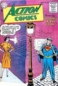 Cover for Action Comics (1938 series) #202