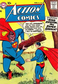 Cover Thumbnail for Action Comics (DC, 1938 series) #238