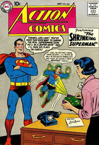 Cover Thumbnail for Action Comics (DC, 1938 series) #245