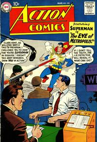 Cover Thumbnail for Action Comics (DC, 1938 series) #250