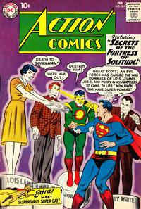 Cover Thumbnail for Action Comics (DC, 1938 series) #261
