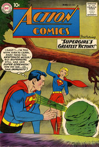 Cover Thumbnail for Action Comics (DC, 1938 series) #262