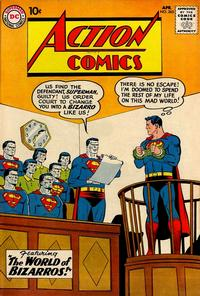 Cover Thumbnail for Action Comics (DC, 1938 series) #263