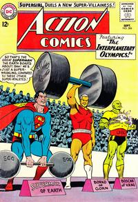 Cover Thumbnail for Action Comics (DC, 1938 series) #304