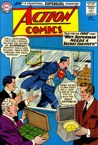 Cover Thumbnail for Action Comics (DC, 1938 series) #305