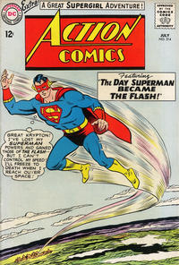 Cover Thumbnail for Action Comics (DC, 1938 series) #314
