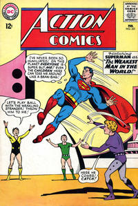 Cover Thumbnail for Action Comics (DC, 1938 series) #321