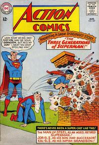 Cover Thumbnail for Action Comics (DC, 1938 series) #327