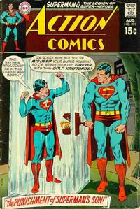 Cover Thumbnail for Action Comics (DC, 1938 series) #391