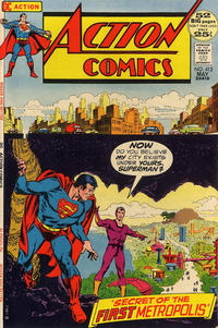 Cover Thumbnail for Action Comics (DC, 1938 series) #412
