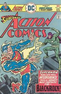 Cover Thumbnail for Action Comics (DC, 1938 series) #458