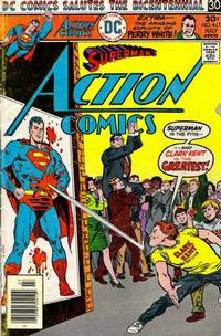 Cover for Action Comics (DC, 1938 series) #461