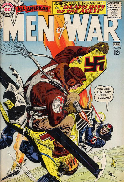 Cover for All-American Men of War (DC, 1953 series) #108